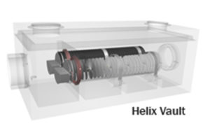 Helix Vault cross section