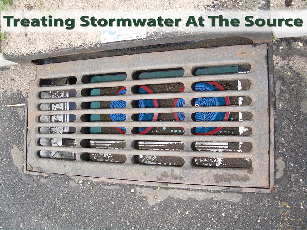 Treating Stormwater At The Source
