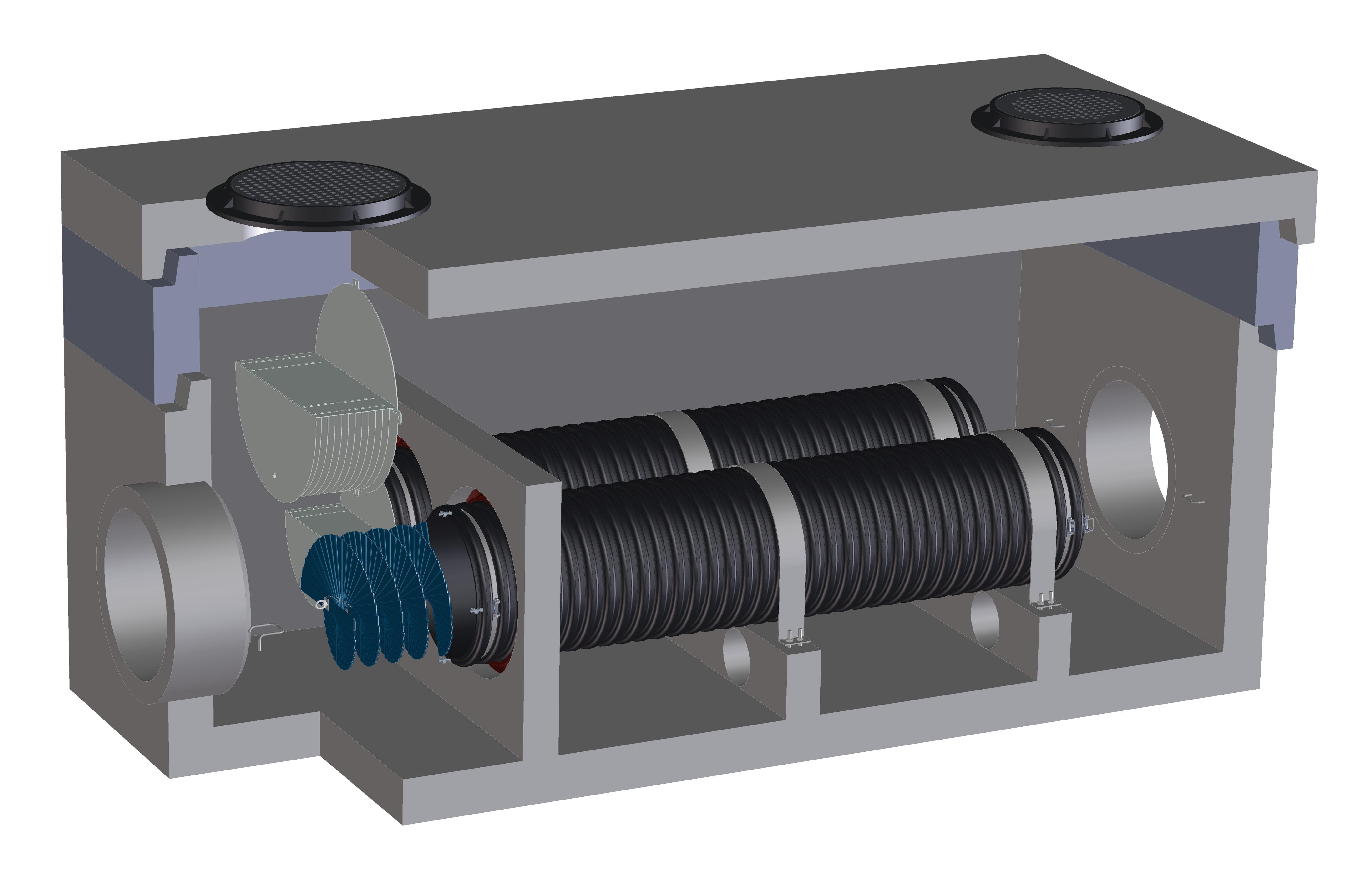 Fabco Industries Helix Digital Render