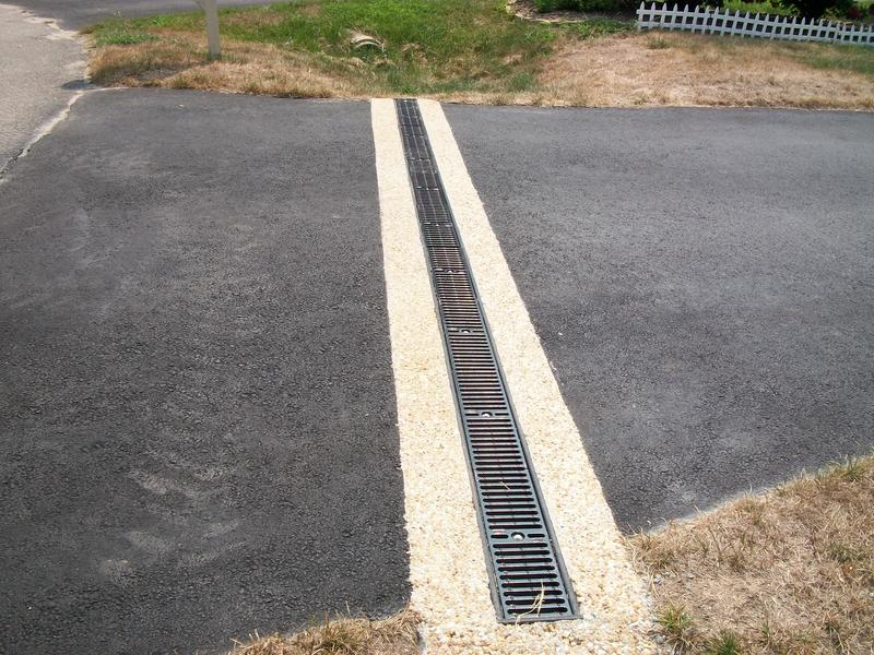 Trench Drain Install The Highlands Chesterfield Va Fabco