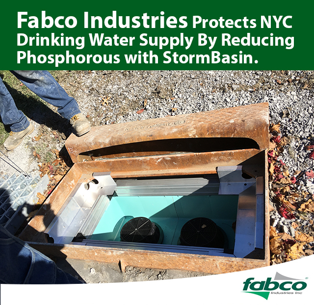 Fabco Industries StormBasin Installation